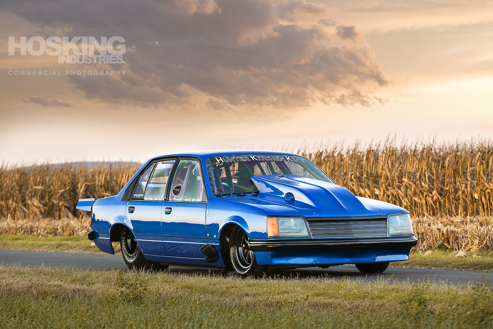 Jeremy Callaghan's Blue VC Commodore