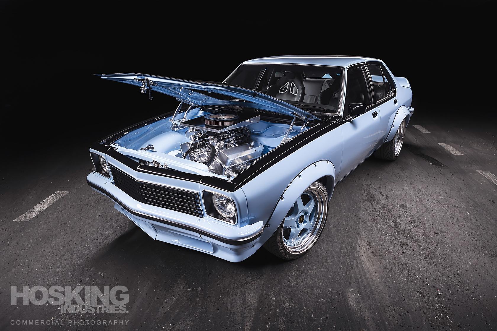 Jason Sandner's blue Holden Torana