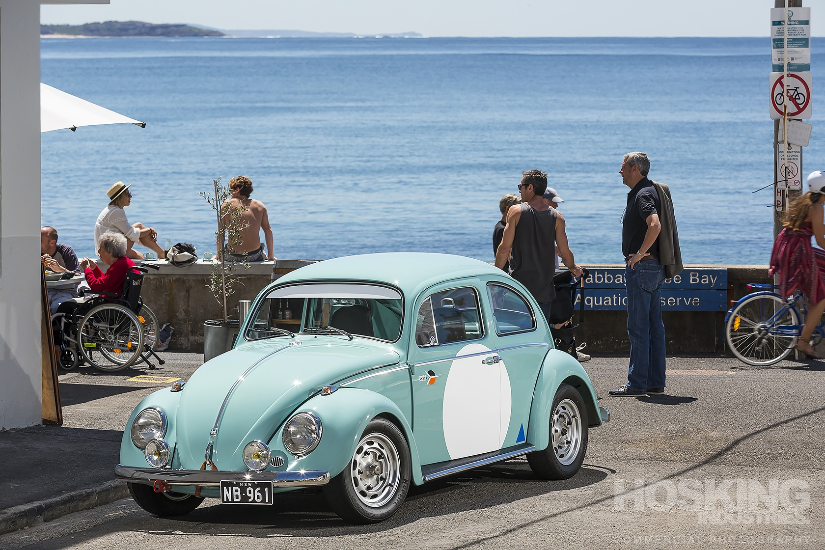 Nick Blunck's VW Beetle
