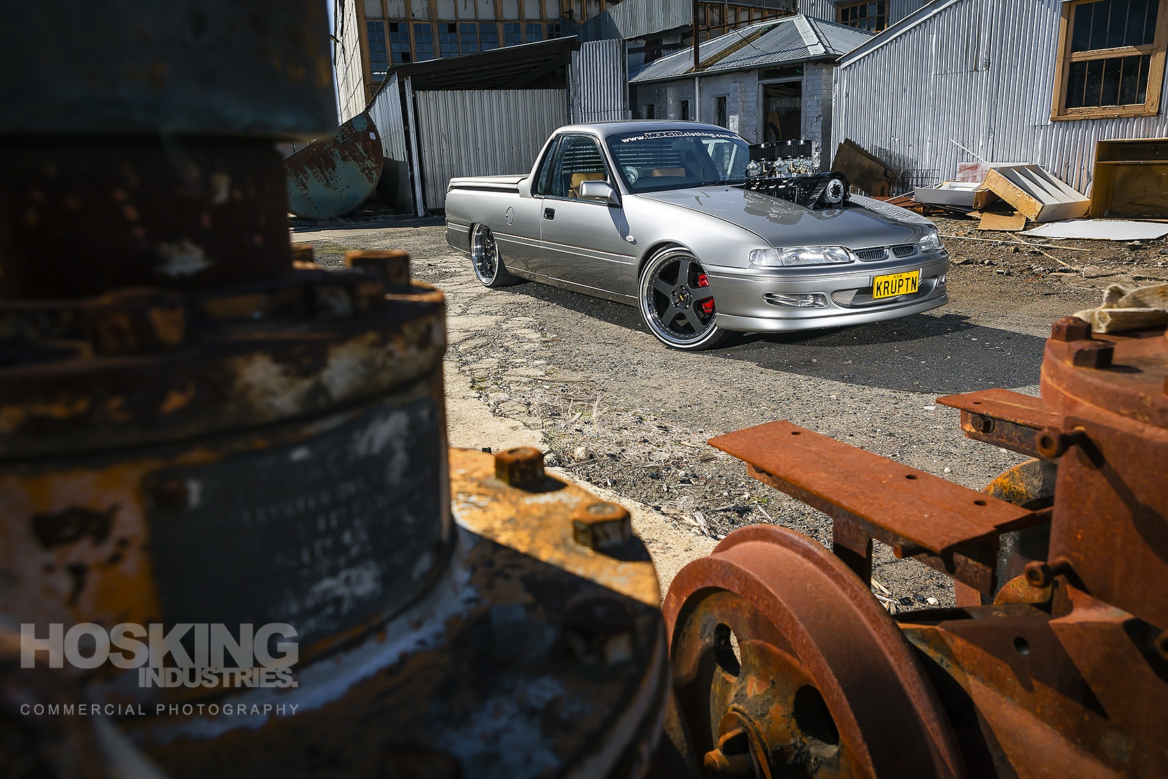 Clint Stevens' supercharged VS Commodore ute