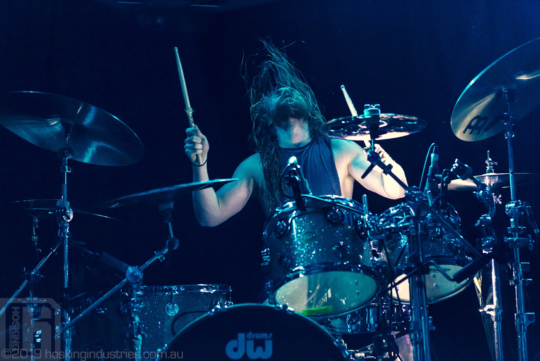 Born of Osiris on stage in Newcastle Australia
