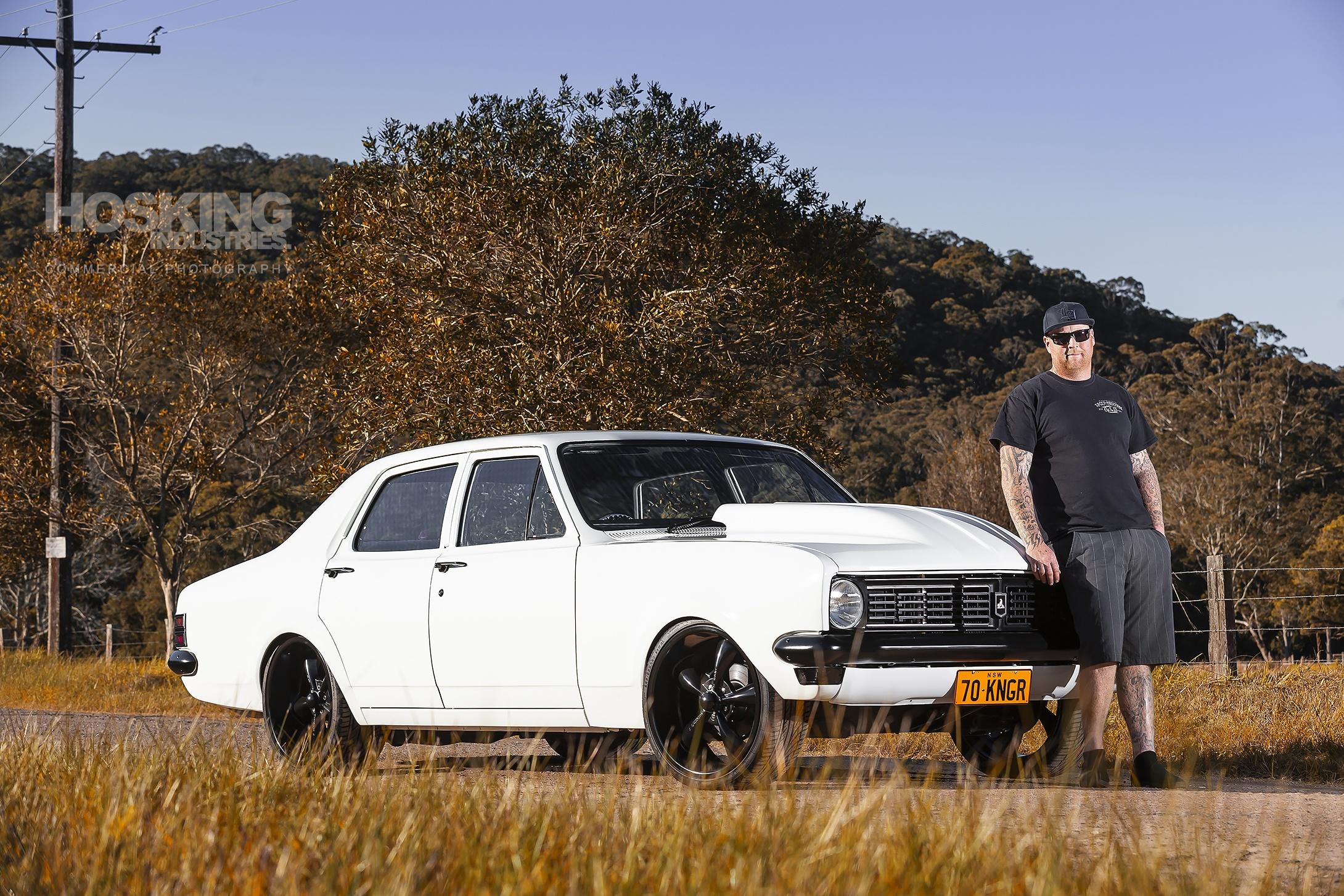 Jason Pellett's Holden HT Kingswood