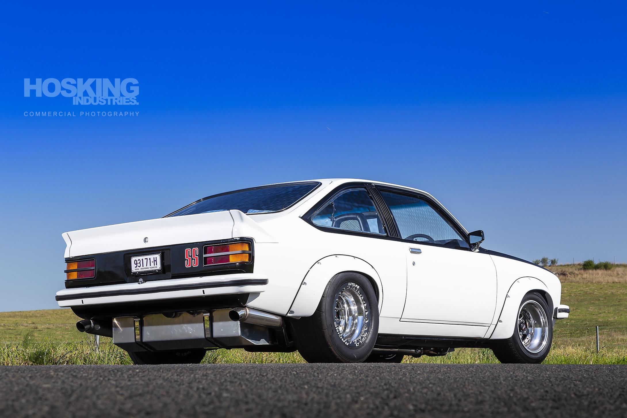 Muss' white 1977 Holden LX SS Torana
