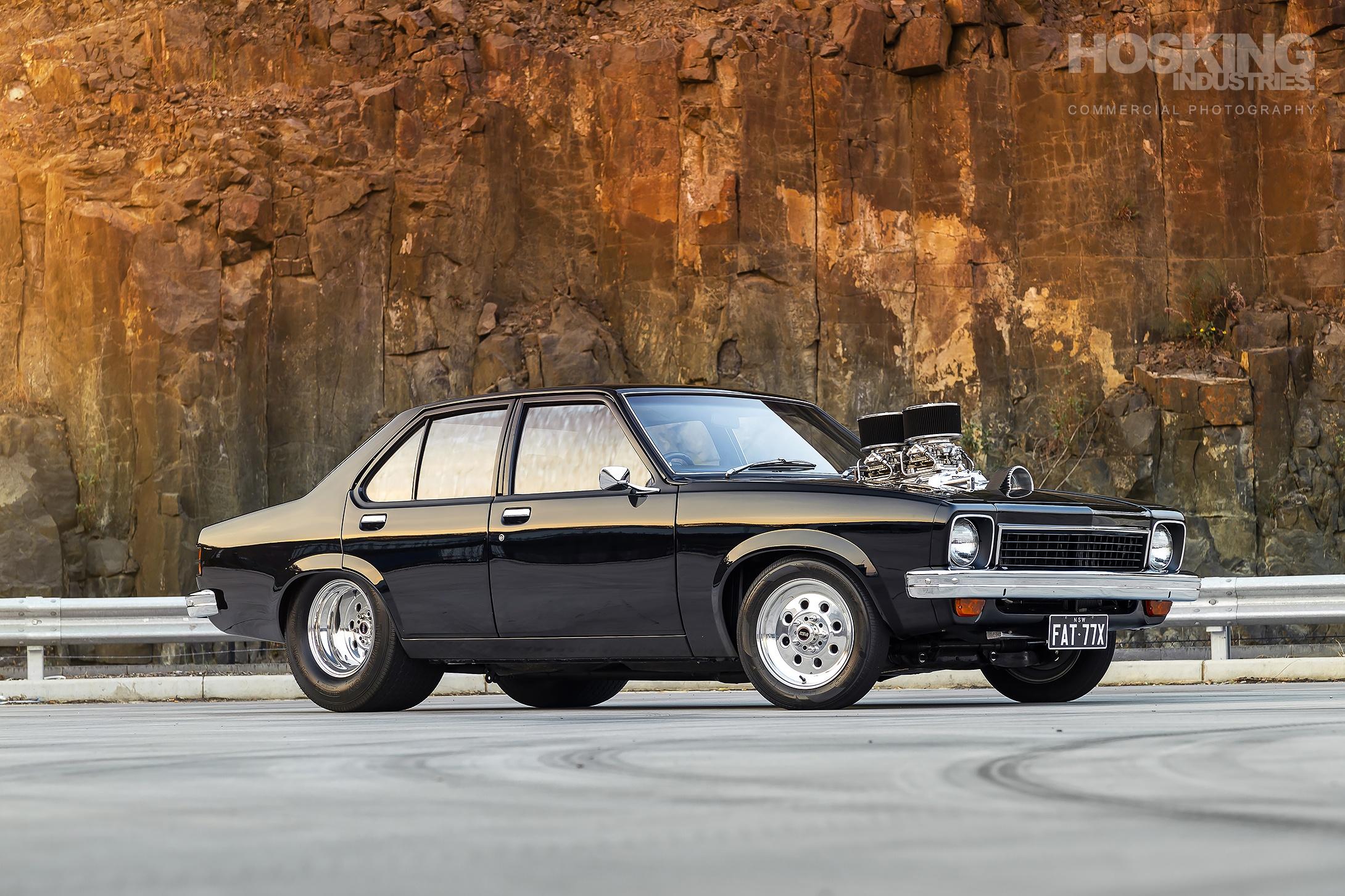 Alex Fenech's supercharged Holden LX Torana