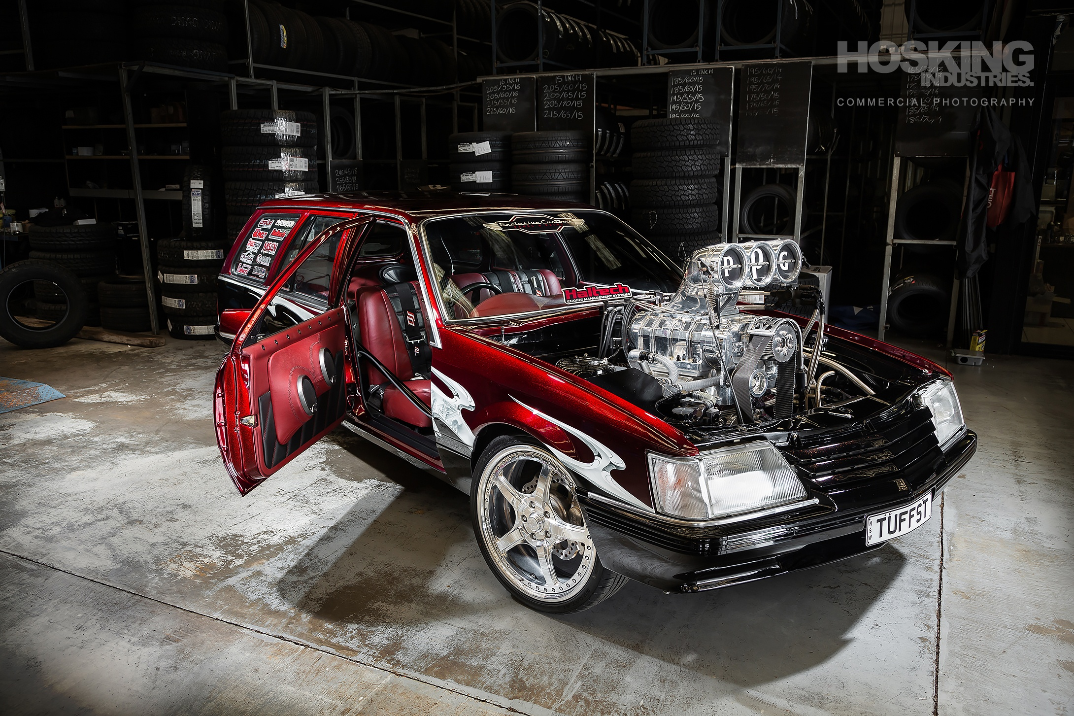 Phil Kerjean's TUFFST Holden VC Commodore wagon