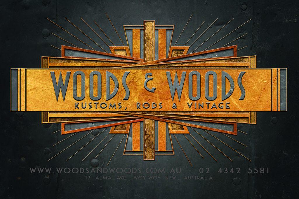 Woods & Woods motor cars logo by Hosking Industries