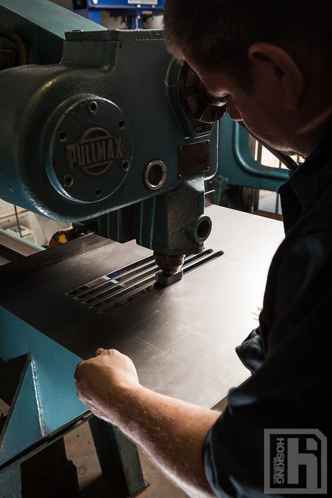Woods & Woods fabricator using Pullmax machine