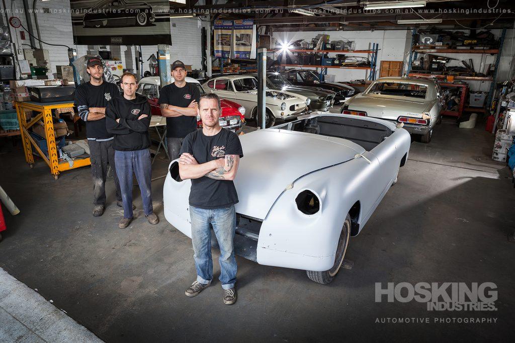 Justin Hills and Co workshop portrait