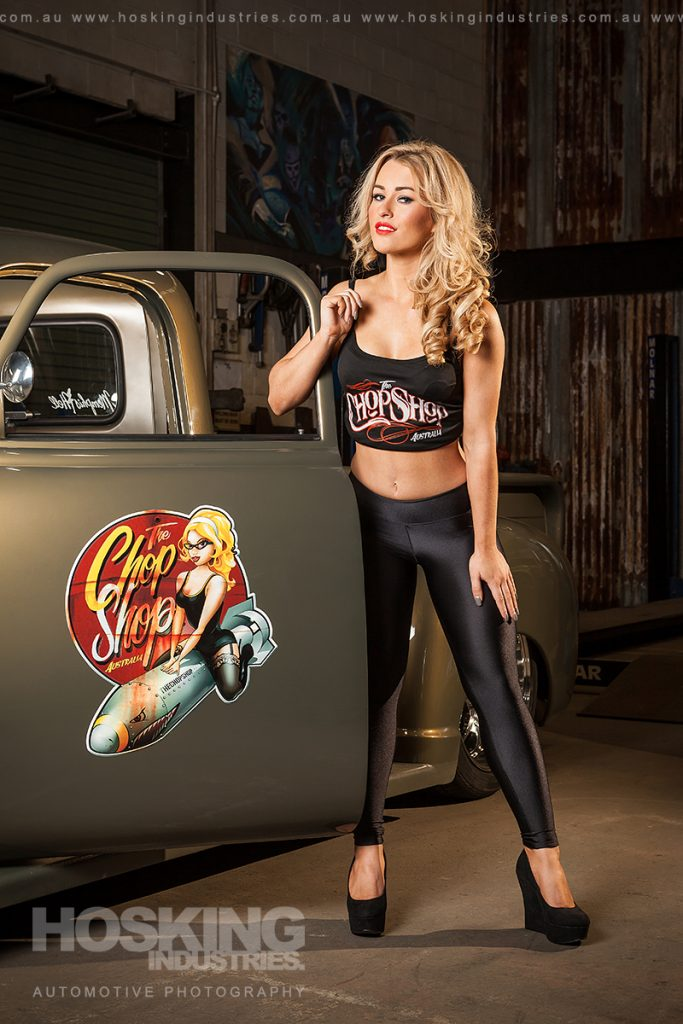 Miss Chop Shop female model