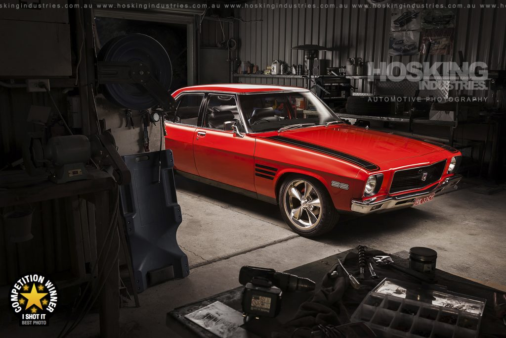 Chris' red Holden HQ SS