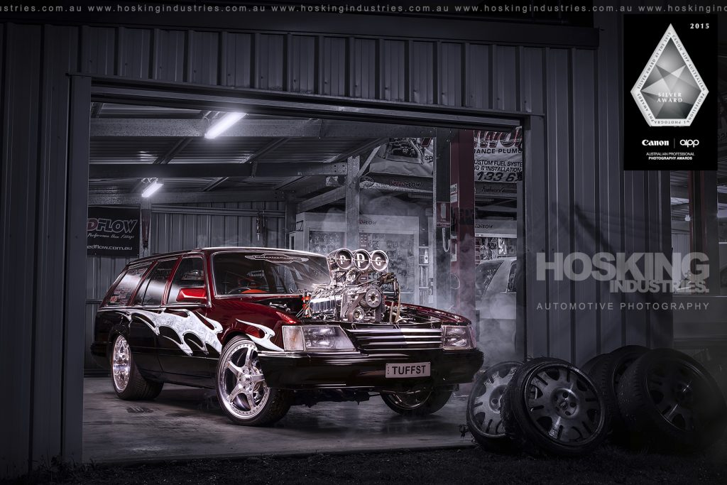 Phil Kerjean's TUFFST Holden Commodore