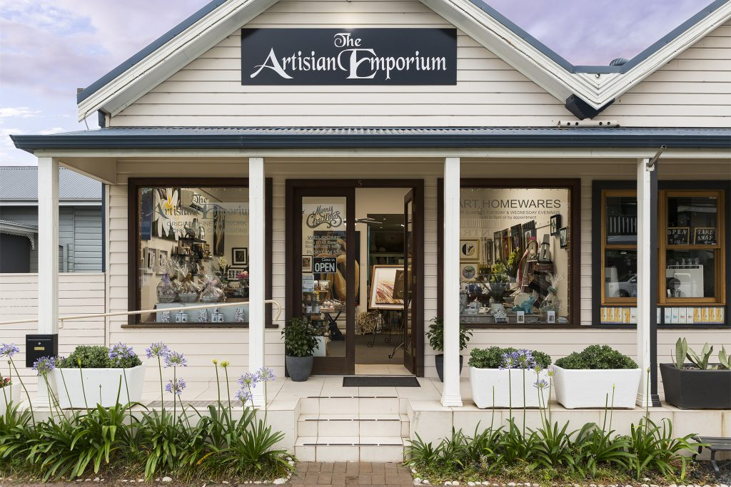 The Artisian Emporium shop front image