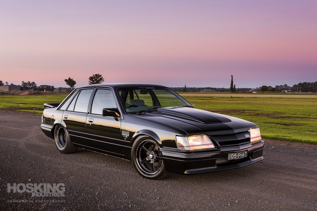 Louis Younis' black turbo LS Holden VK Commodore
