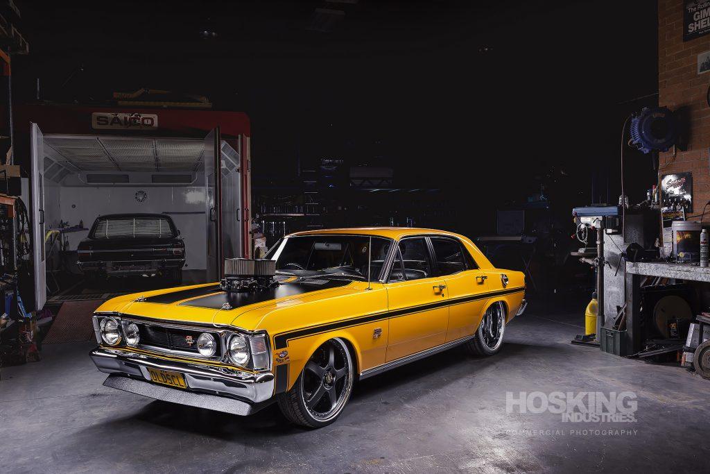 Yellow V Resto Ford Falxon OLDSCL
