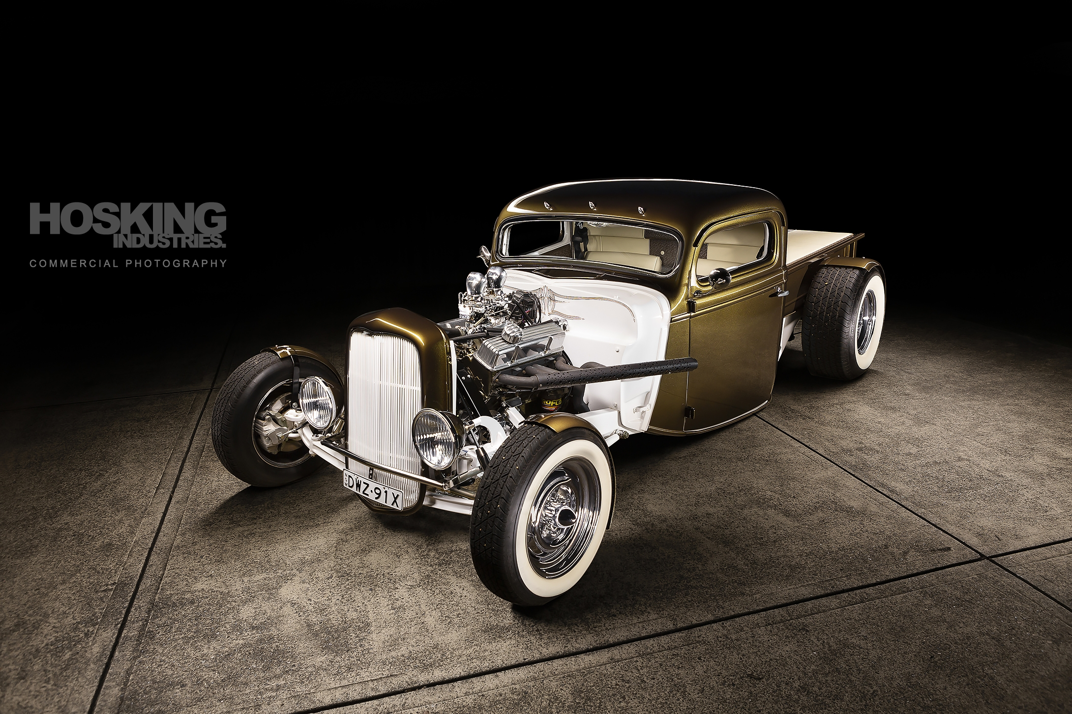 Webby's Speed Shop Ford hot rod photo