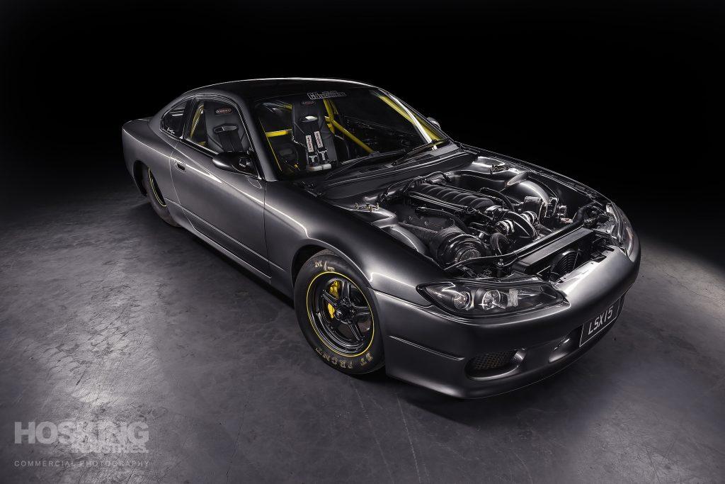 Bren's LS-powered Nissan S15 Silvia
