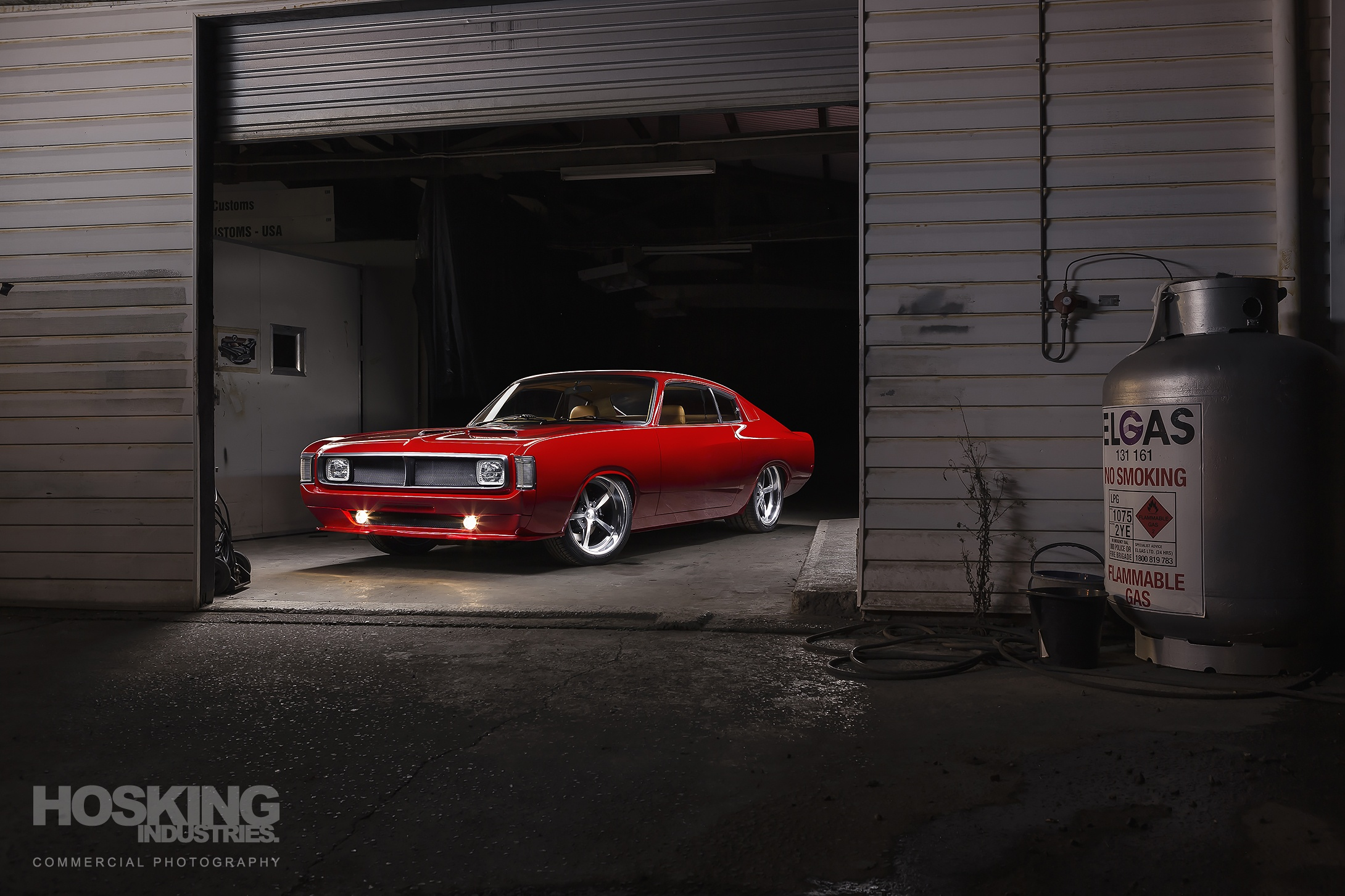 Mario's red Valiant Charger