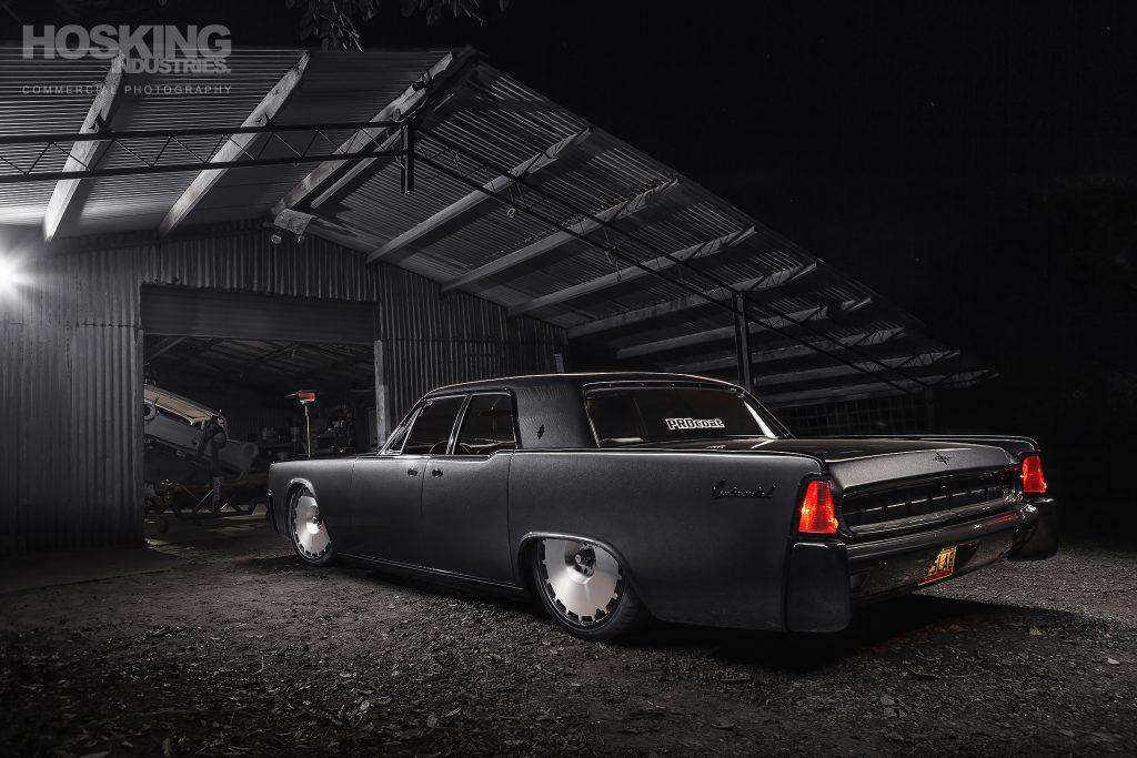 Mark Sullivan's Lincoln Continental