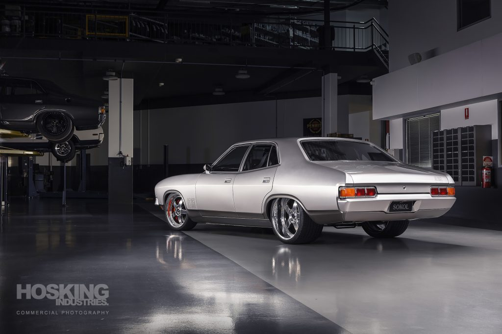 Tomi's silver Ford XB Falcon for Street Machine