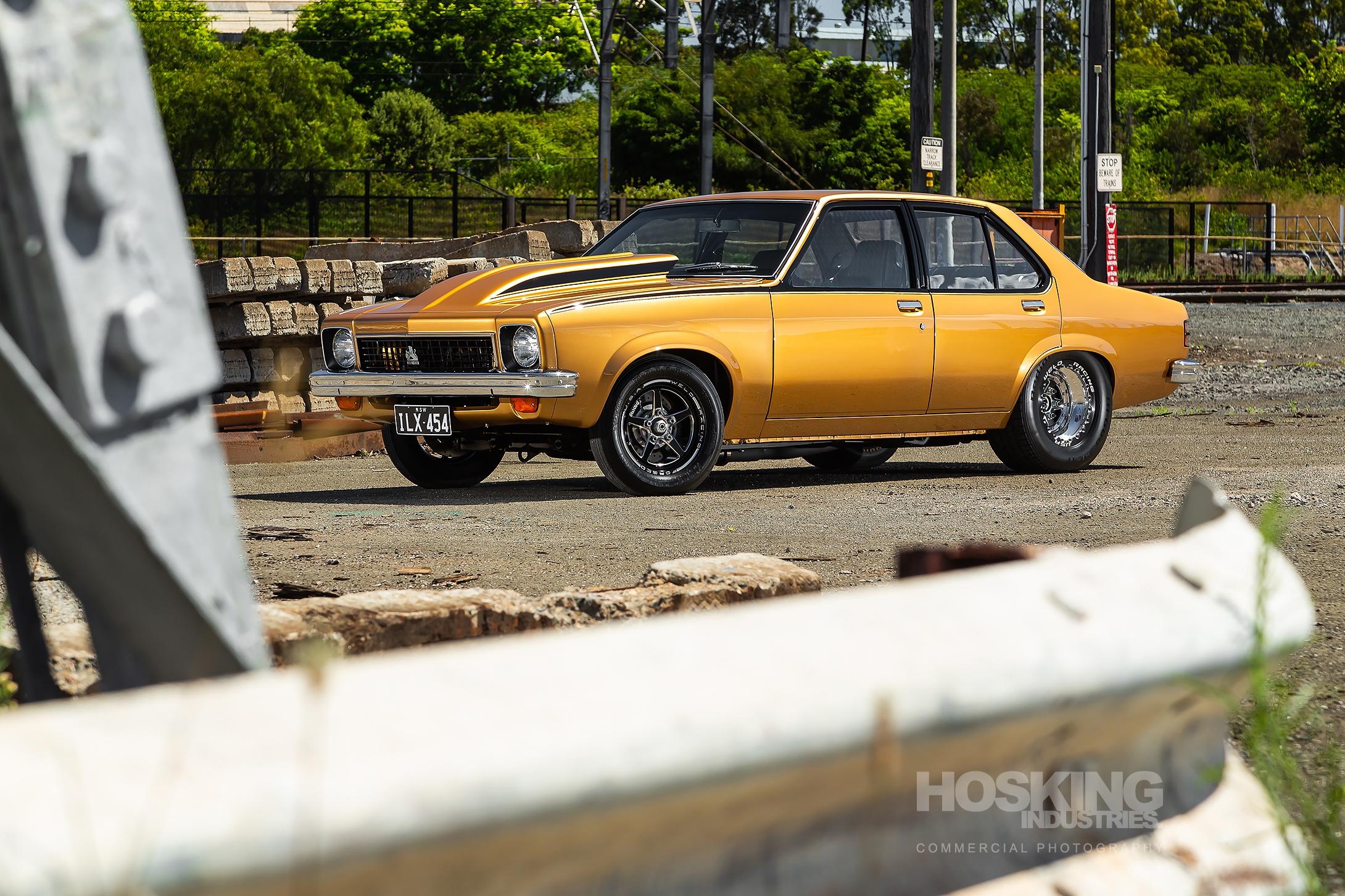 Mendo's gold Holden Torana