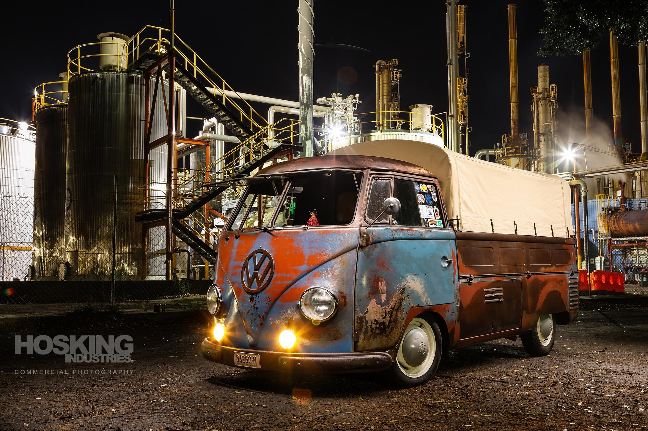 Sammy's rusty VW single cab