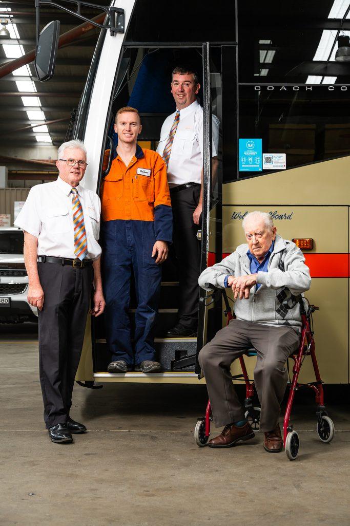 Baxter's Coaches for Australasian Bus & Coach