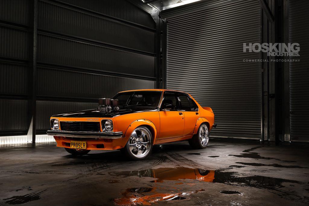 Paul's orange Holden Torana