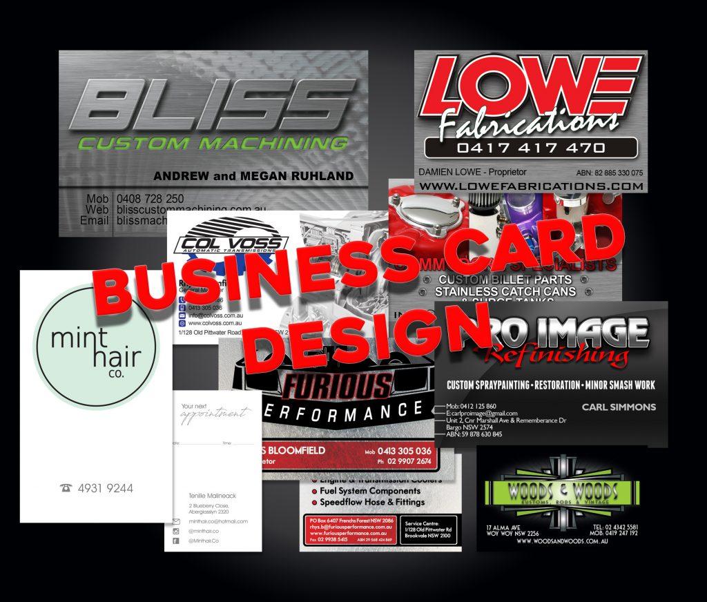 Various Business Card Designs