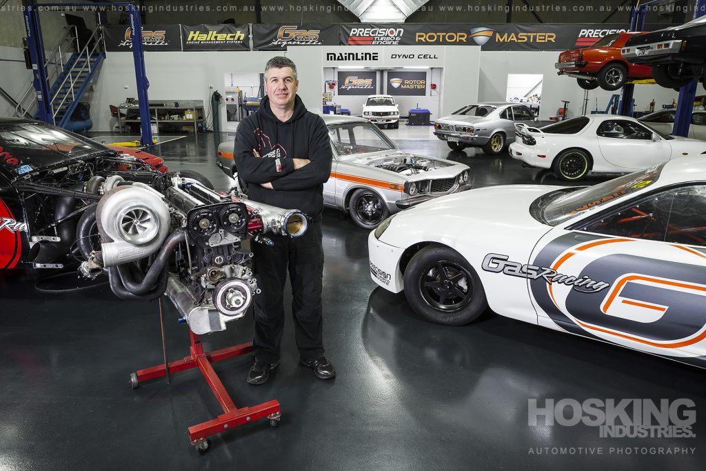 GAS Motorsport environmental portrait