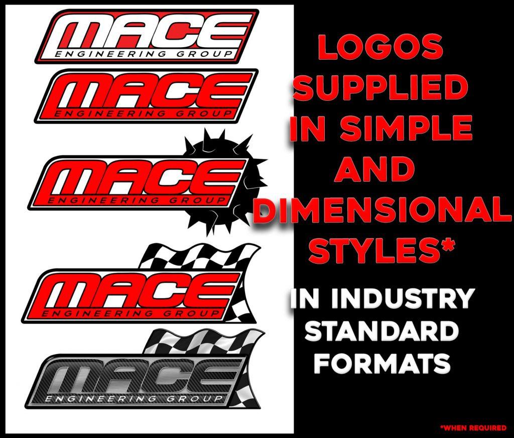 Mace Engineering Logo Designs